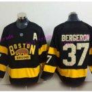 2017 Winter Classic Hockey Jerseys Boston Bruins Jersey Home Black 37 Patrice Bergeron