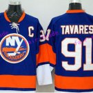 New York Islanders 91 John Tavares Jersey Ice Hockey Sports Fashion Man Team Color Blue