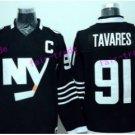 New York Islanders 91 John Tavares Jersey Ice Hockey Sports Fashion Man Team Color Black