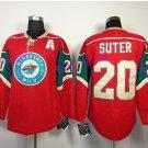 2017 Stadium Series Ryan Suter Minnesota Wild Hockey Jerseys Green #20 Ryan Suter Jersey Red