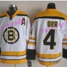 oston Bruins Ice Hockey #4 Bobby Orr Jersey White Authentic 2017 Winter Classic Jerseys