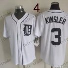 Detroit Tigers #3 Ian Kinsler 2015 Baseball Jersey Authentic Stitched