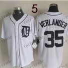 Detroit Tigers #35 Justin Verlander 2015 Baseball Jersey Authentic Stitched