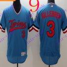 2016 Flexbase Stitched Minnesota Twins Blank 3 Killebrew Blue Baseball Jersey
