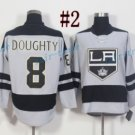 Los Angeles Kings #8 Drew Doughty 2017 Hockey Jerseys Ice Winter Jersey All Stitched