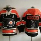 Philadelphia Flyers #9 Ivan Provorov Black 2017 Stadium Series Hockey Hooded Sweatshirt Jerseys
