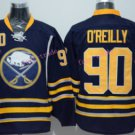 90 Ryan O'Reilly Sabres Jersey Buffalo Black Ice Hockey Jerseys Breathable Top Quality