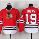 Youth Jonathan Toews Jersey Chicago Blackhawks Toews Jerseys 19 Kids red Hockey Jersey