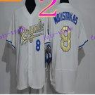 Kansas City Royals #8 Mike Moustakas 2016 Baseball Jersey Authentic Stitched