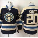Columbus Blue Jackets #20 Brandon Saad Blue 2016 Hockey Jerseys Ice Winter Jersey All Stitched