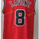 2017 2018 New 8 Zach LaVine Jersey Best Plain Red Jerseys stitched