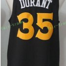 2017 2018 New 35 Kevin Durant Jersey Best Plain Black Jerseys stitched