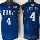 Duke Blue Devils Basketball Jerseys College Men 4 JJ Redick Blue Black Stitched