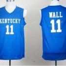 Kentucky Wildcats Jerseys 2017 College 11 John Wall Uniforms Home Blue
