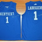 Kentucky Wildcats Jerseys 2017 College 1 Skal Labissiere Uniforms Home Blue