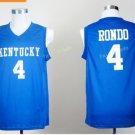 Kentucky Wildcats Jerseys 2017 College 4 Rajon Rondo Uniforms Home Blue