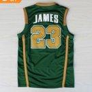 Best Quality 23 LeBron James Jersey Shirt Uniforms Green