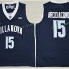 2017 Villanova Wildcats College Basketball Jerseys 15 Ryan Arcidiacono Black University Jersey