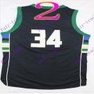 #34 giannis antetokounmpo # 2016 New Arrival swingman Basketball Jerseys Sportswear Black