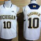 2017 College Michigan Wolverines Jerseys Big 10 Tim Hardaway Jr. White Shirt Uniform