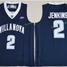 2017 Villanova Wildcats College Basketball Jerseys 2 Kris Jenkins Blue University Stitched