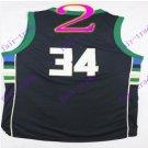 #34 giannis antetokounmpo Black 2016 swingman Basketball Jerseys Sportswear Jersey
