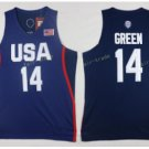 2017 Dream Twelve Team USA Jerseys 14 Draymond Green NAvy