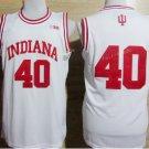 2017 College Jerseys Indiana Hoosiers 40 Cody Zeller Shirt Uniform Team Color White