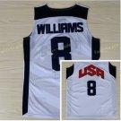 Dream Team 2017 USA Jersey 8 Deron Williams White Basketball Jerseys Best