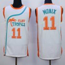Best Quality 11 Ed Monix White Jersey Men Shirt Flint Tropics Semi Pro Movie