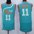 Best Quality 11 Ed Monix Blue Jersey Men Shirt Flint Tropics Semi Pro Movie