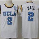 Hotselling UCLA Bruins College Basketball Jerseys 2 Lonzo Ball White