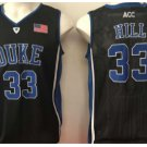 Throwback 33 Grant Hill Blue Devils College Basketball Jerseys Uniform Sport Stitched Black