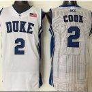 Men 14 Brandon Ingram Duke Blue Devils Jerseys College Sport Basketball Shirts White Style 2