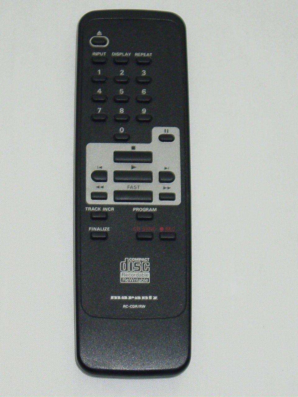 Marantz RC-7925/02 RC-CDR/RW CD Recorder Remote Control 3139-228-80871