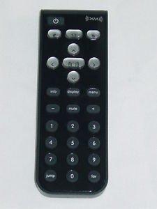 Audiovox XpressRC 136-4804 XM Satellite Radio Receiver Remote Control 17X08