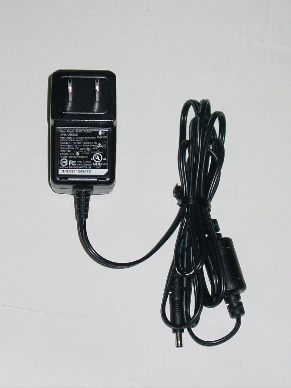 Logitech L-LD4-0 KWT08A00JN0661 AC Adapter 534-000115 8V 500mA