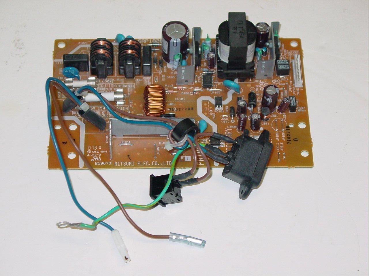 Brother HL-5240 HL-5250DN Printer Power Supply Board SRP1828UC