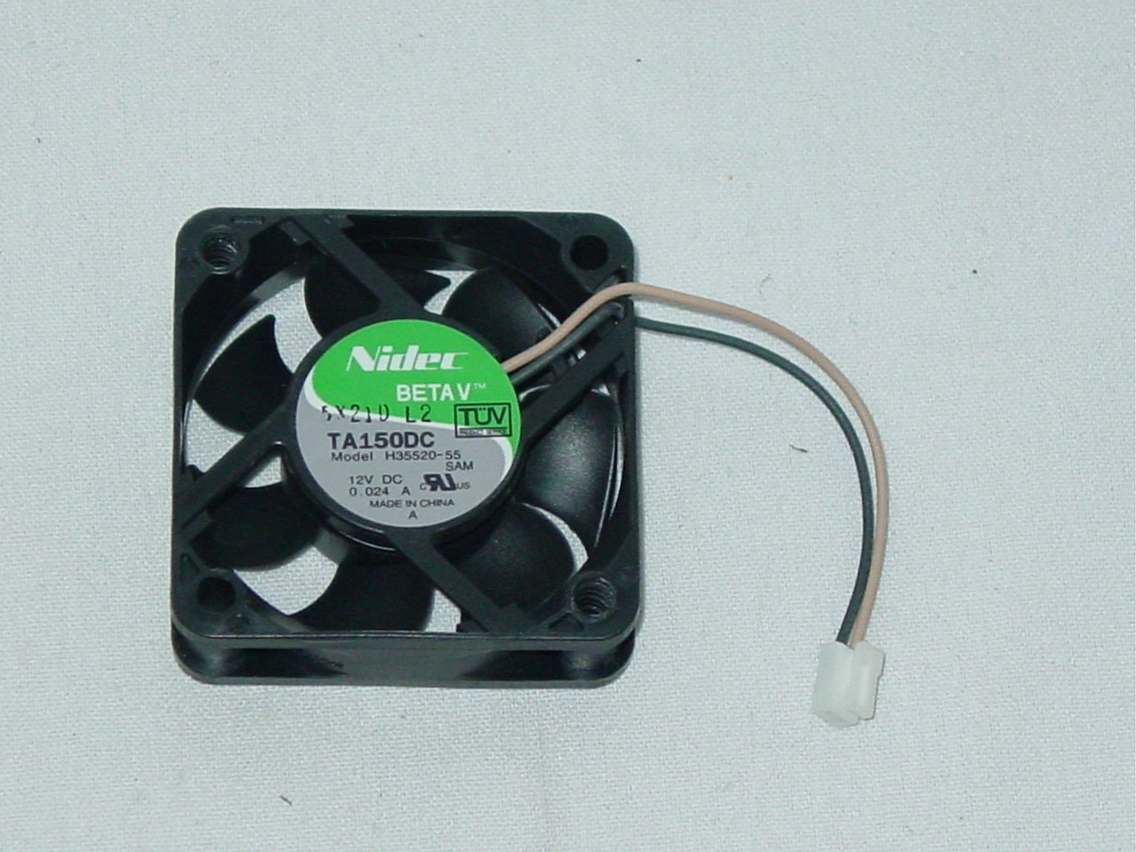 Samsung DVD-R120 DVD Recorder Cooling Fan H35520-55 TA150DC 12V 0.025A