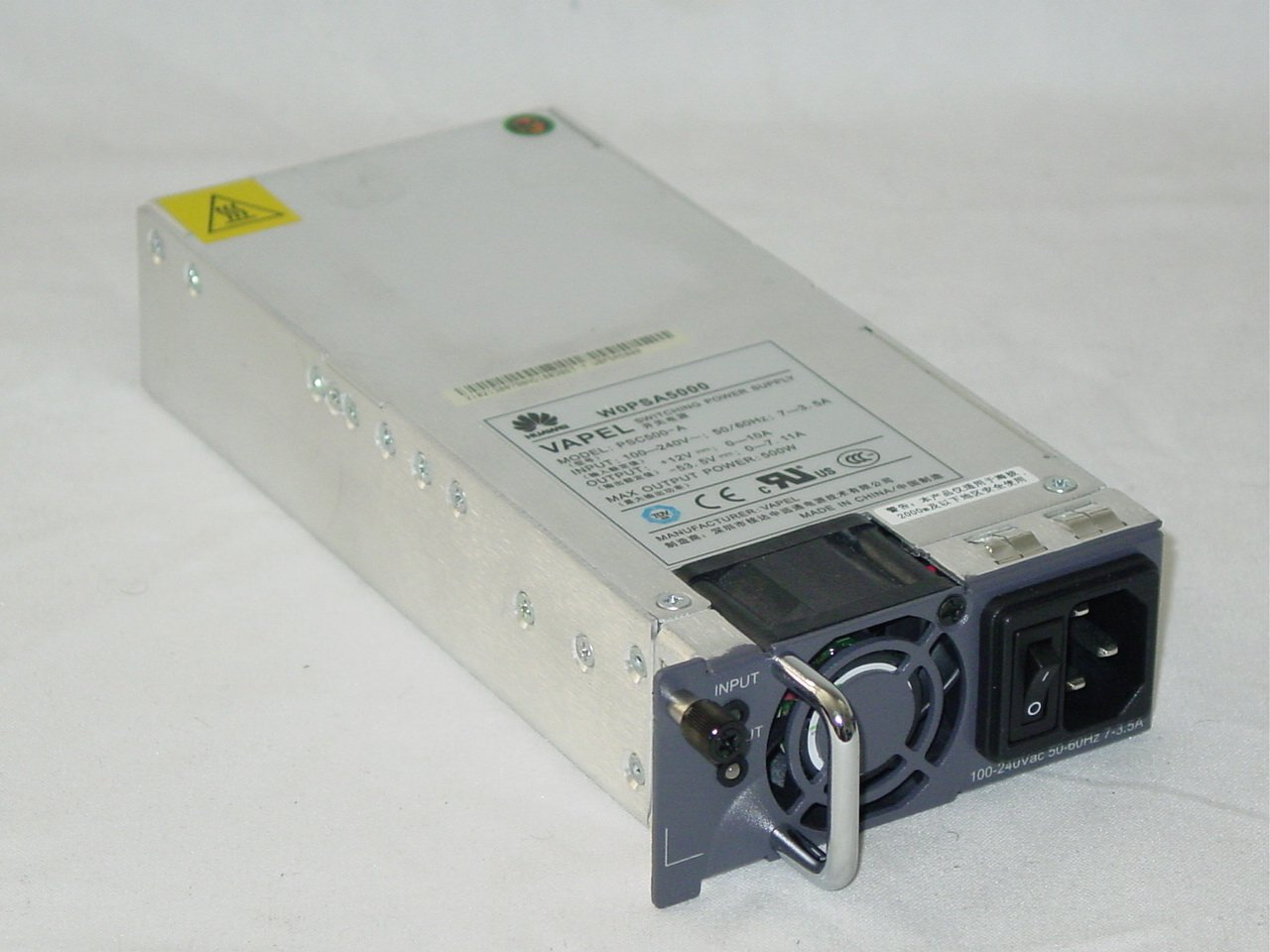 Huawei W0PSA5000 500W Switching Power Supply Module Vapel PSC500-A