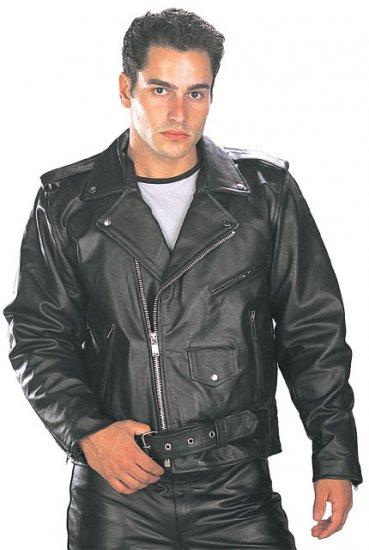 """""""Classic Men's TOP GRADE Biker Motorcycle Jacket"""" by Xelement"""