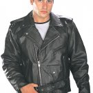 """Classic Men's TOP GRADE Biker Motorcycle Jacket"" by Xelement"