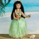 PORCELAIN HULA GIRL