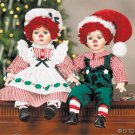 BOBBY & BETTY DOLLS AS SANTA & MRS CLAUS