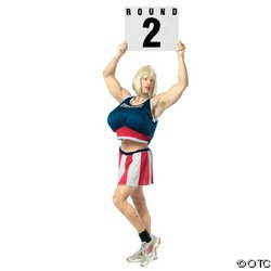 RING GIRL MALE ADULT COSTUME 42-44""