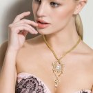 YUANIRIS Chinese original crystal key necklace