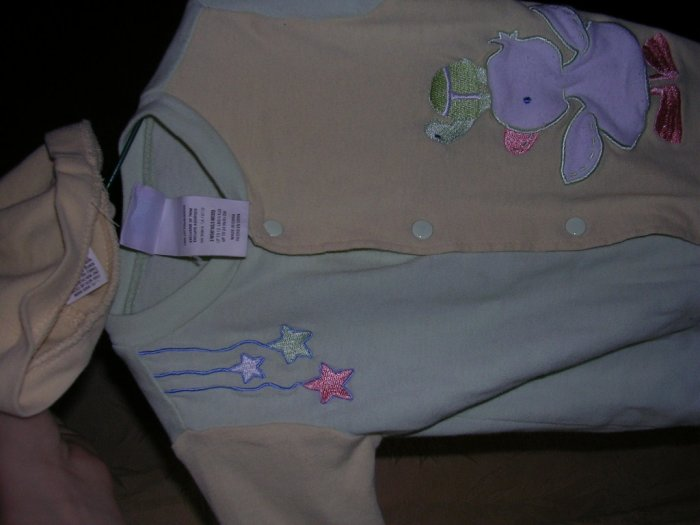 UNISEX CARTERS SLEEPER WITH HAT