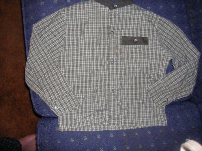 BOYS LONG SLEEVE DRESS/CASUAL SHIRT