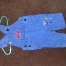 BUSTER BROWN FATHER AND SON FIX IT JEAN OVERALLS