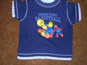 SESAME STREET 4T S/S SHIRT